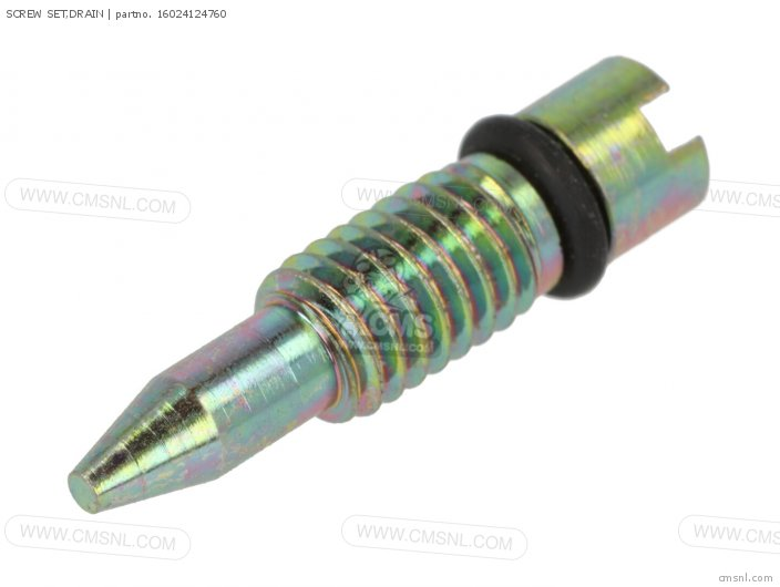 SCREW SET,DRAIN