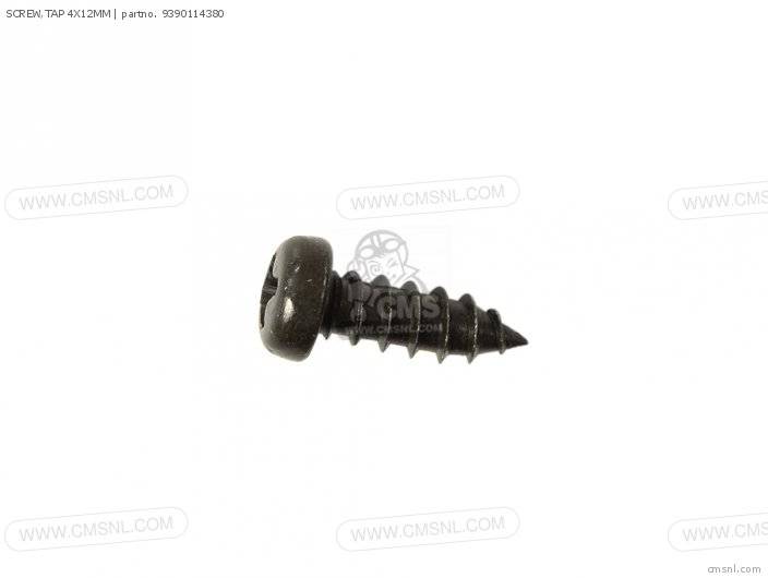 SCREW,TAP 4X12MM