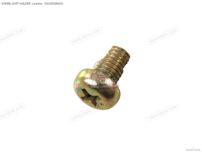 SCREW,UNIT HOLDER