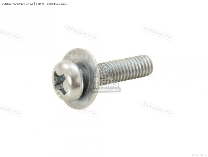 SCREW-WASHER,3X12