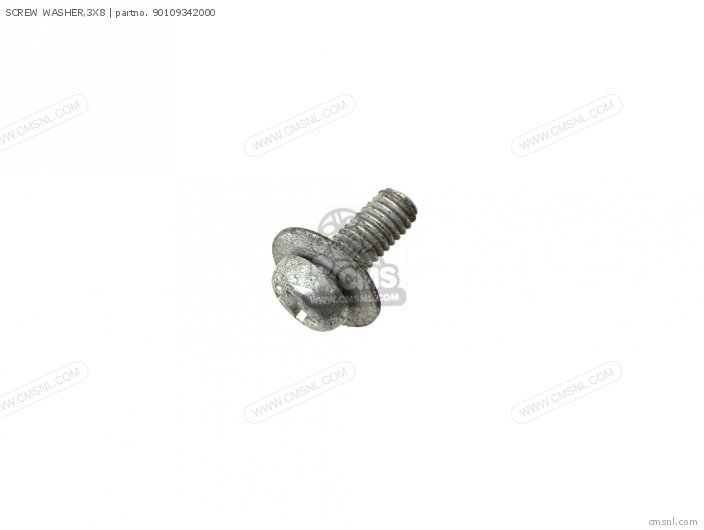 SCREW WASHER 3X8