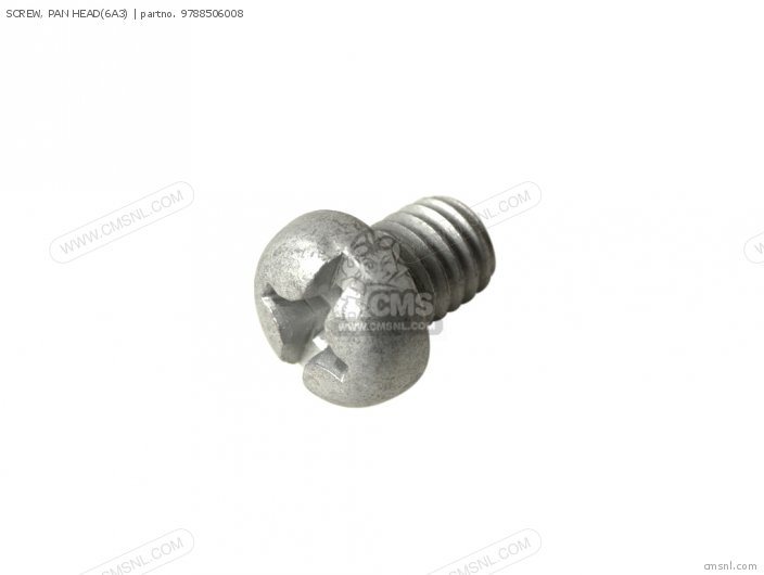 Screw, Pan Head(6a3) photo