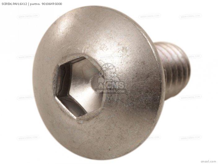 Screw, Pan, 6x12 photo