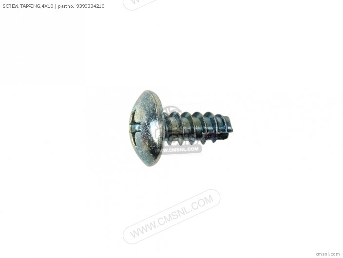 Screw, Tapping, 4x10 photo