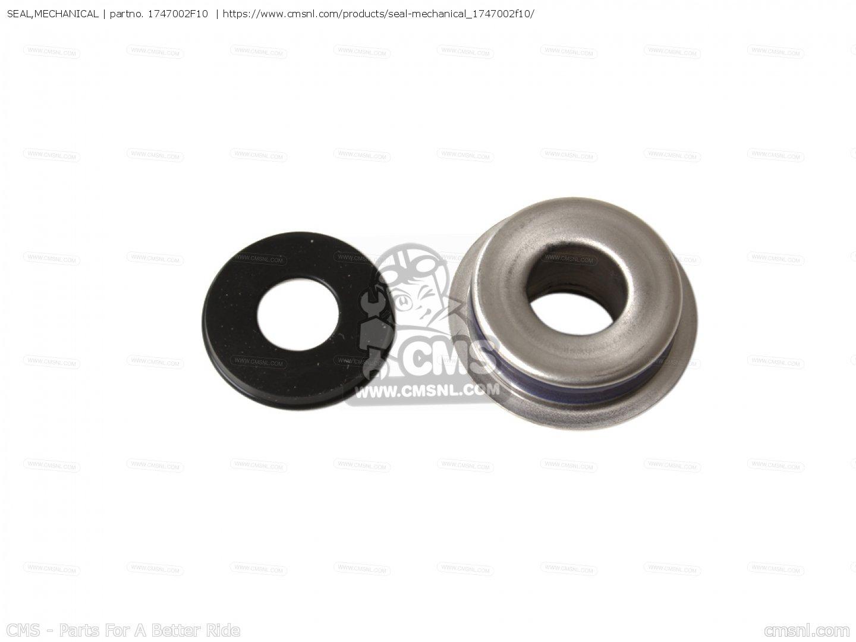 Water Pump Mechanical Seal for 2004 Suzuki GSX-R 1000 K4