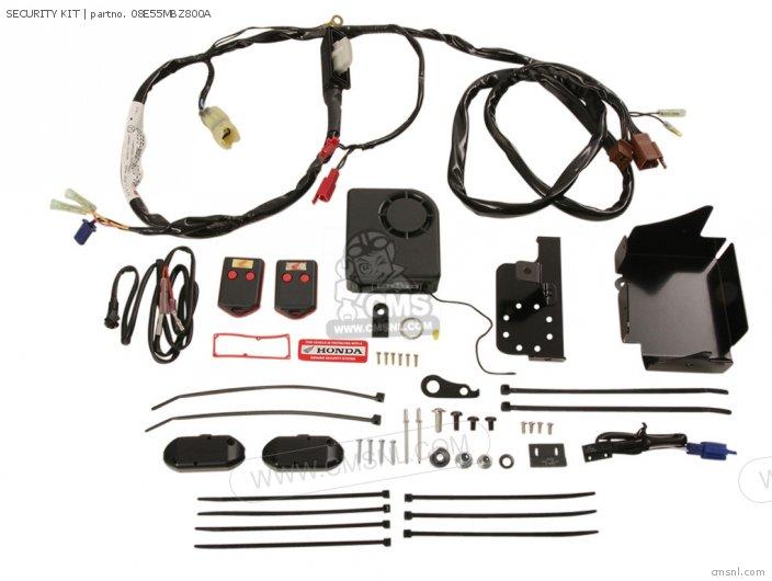 Honda SECURITY KIT 08E55MBZ800A