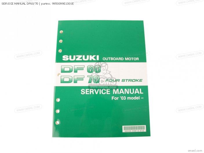 Suzuki Df 60 service manual
