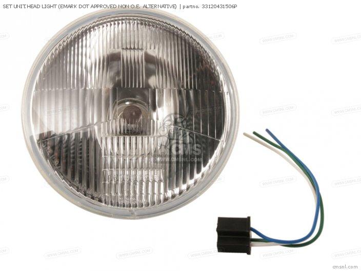 Set Unit, Head Light (emark Dot Approved Non O.e. Alternative) photo