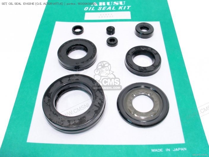 SET, OIL SEAL  ENGINE (O.E. ALTERNATIVE)