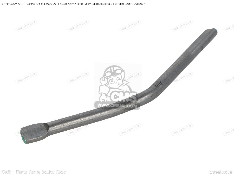Honda 16541-Z0D-000 Shaft Governor Arm