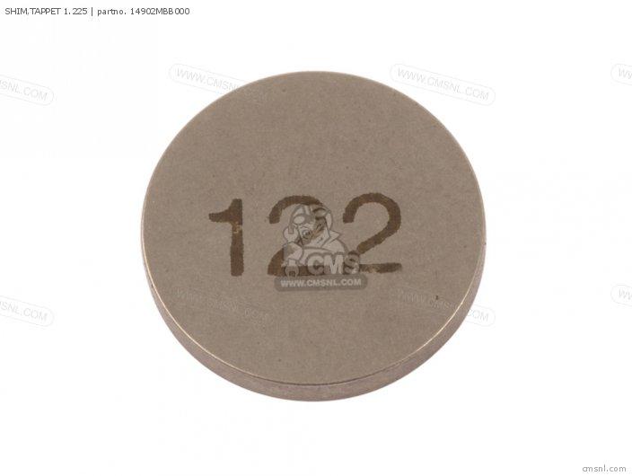 SHIM, TAPPET 1.225