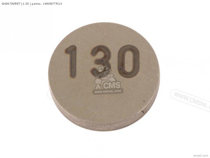 Cbf500 2004 4 European Direct Sales   3ed Shim tappet 1 30