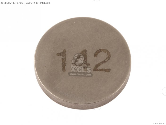 SHIM, TAPPET 1.425