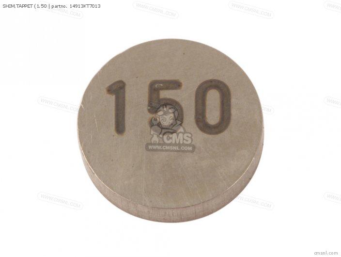SHIM TAPPET 1 50