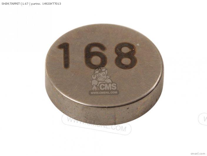 SHIM TAPPET 1 67