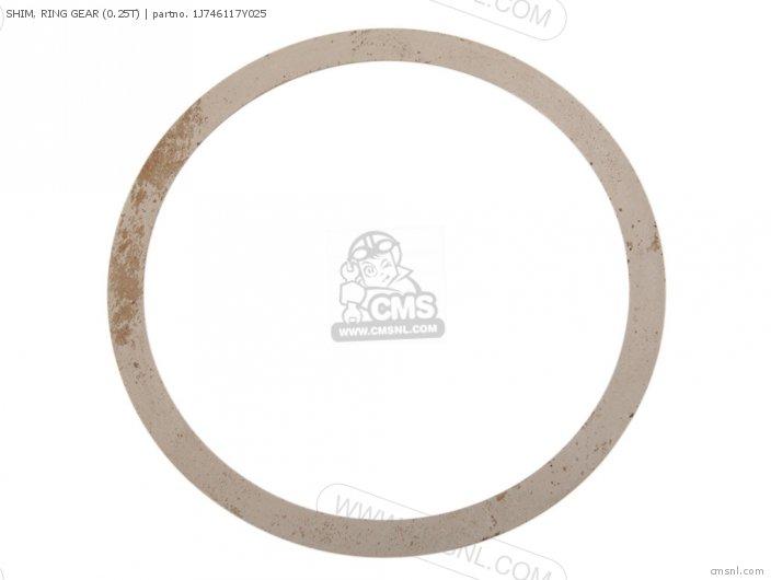 Shim, Ring Gear (0.25t) photo