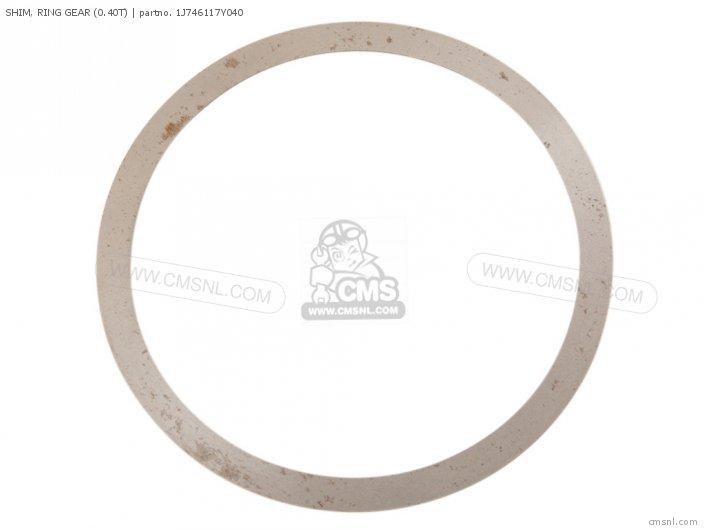 Shim, Ring Gear (0.40t) photo