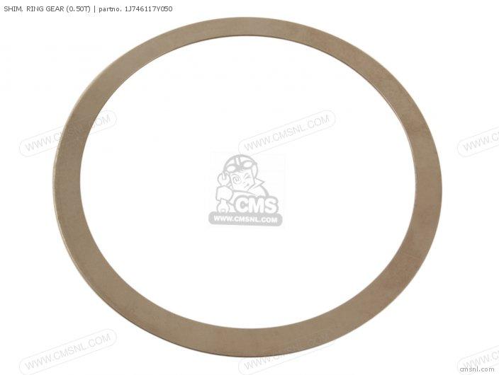 Shim, Ring Gear (0.50t) photo