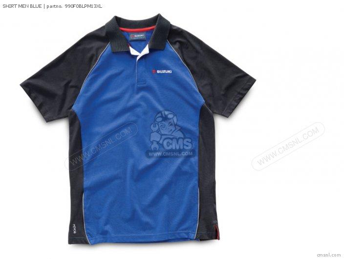 Shirt Men Blue photo