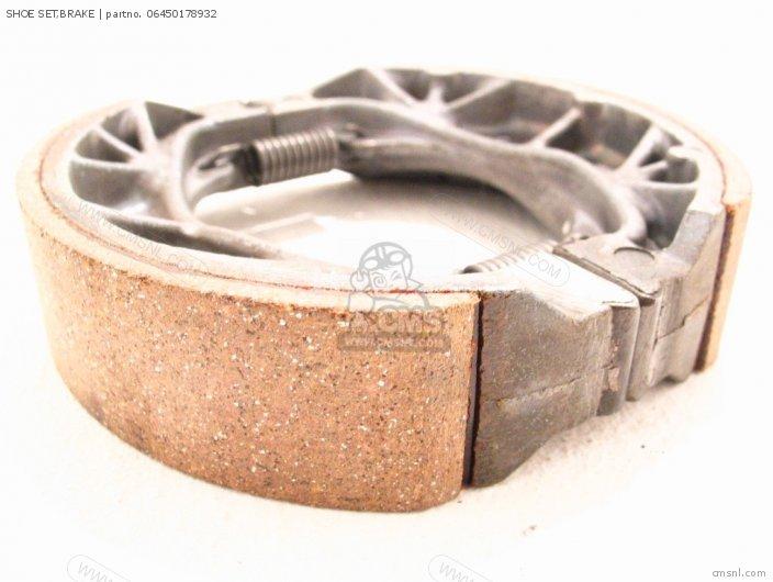 Z50jr Type 2 1988 j Monkey Rt Japan Ab22-100 Shoe Set brake