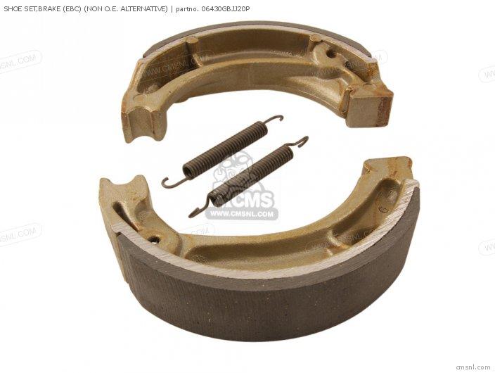 Shoe Set, Brake (ebc) (non O.e. Alternative) (nas) photo