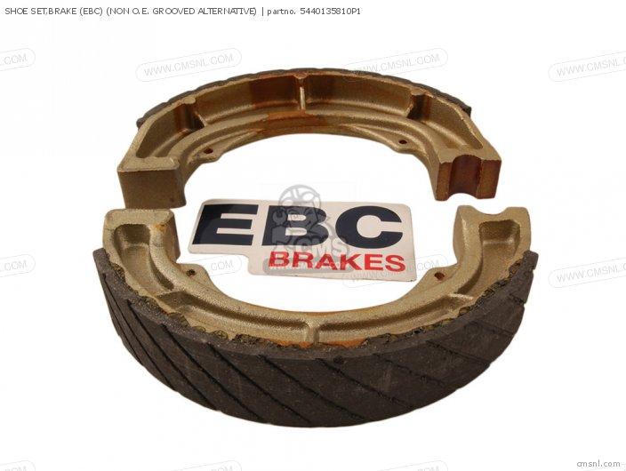 Shoe Set, Brake (ebc) (non O.e. Grooved Alternative) (nas) photo