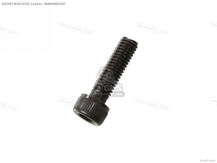 SOCKET BOLT,6X22