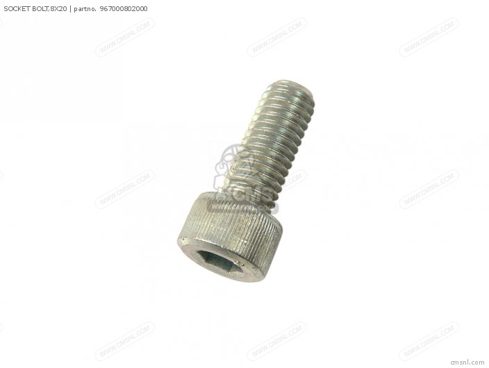 Socket Bolt,8x20 photo