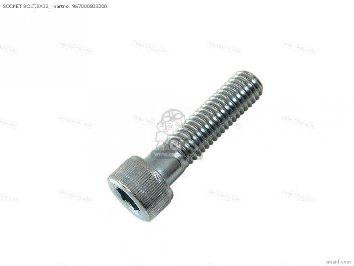 SOCKET BOLT,8X32