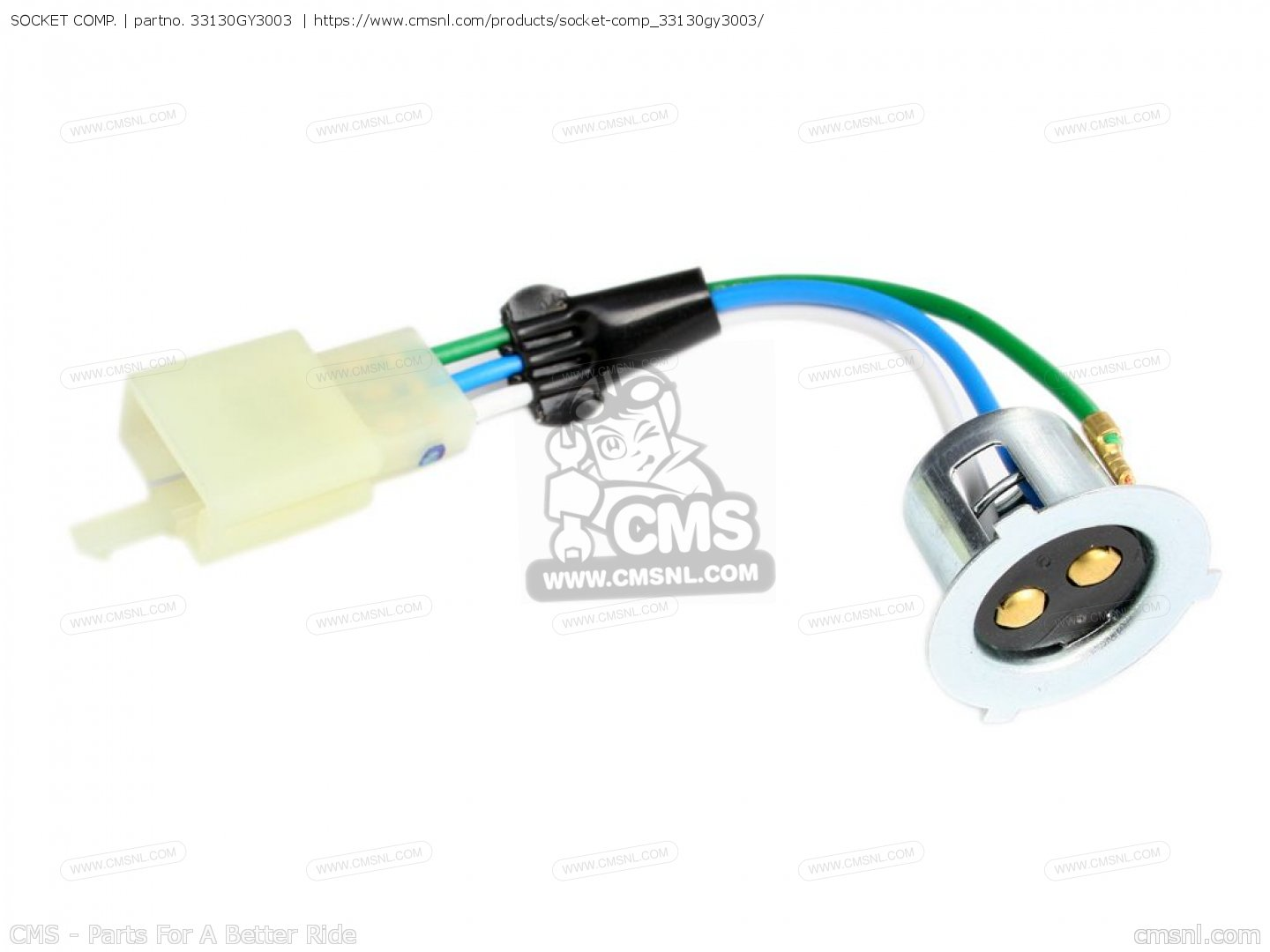 Socket Comp Fits Z50jv Monkey Japan Order At Cmsnl Honda Z50j Wiring Diagram Photo