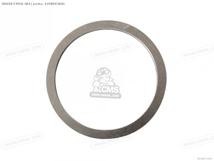 SPACER F,RING GEA