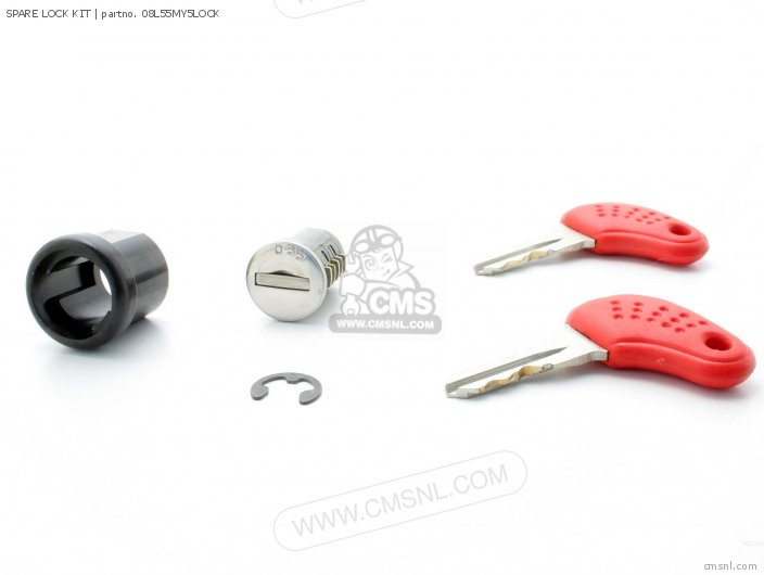 Cbf500 2004 4 European Direct Sales   3ed Spare Lock Kit