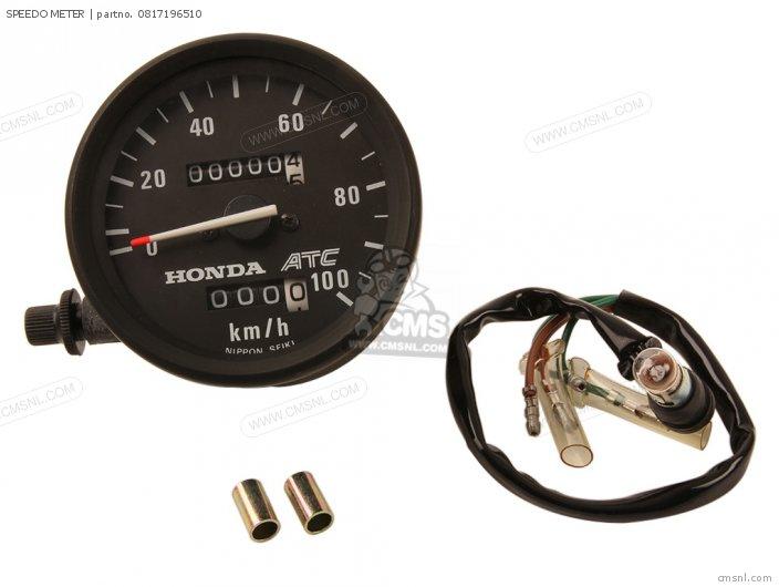 Honda SPEEDO METER 0817196510