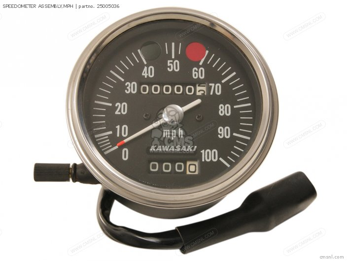 SPEEDOMETER ASSEMBLY,MPH