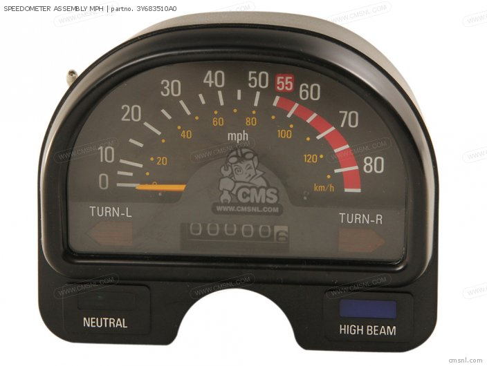 SPEEDOMETER ASSEMBLY MPH