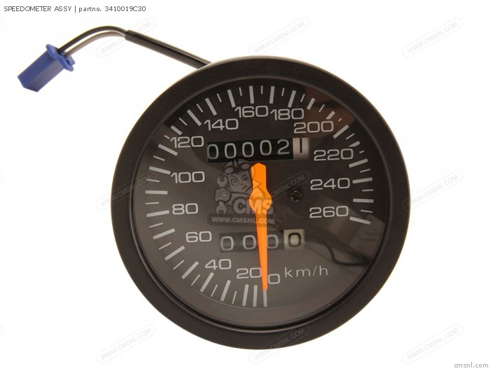 Speedometer Assy photo