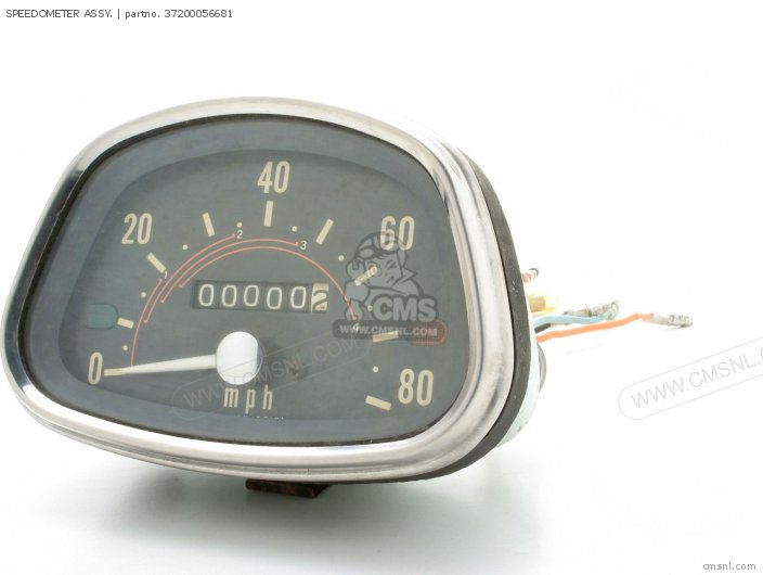 Speedometer Assy. photo