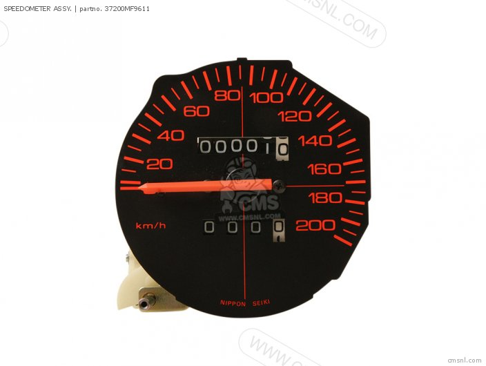 Speedometer Assy. photo