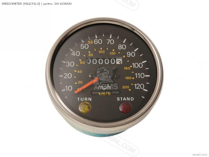 Speedometer (mile/kilo) photo