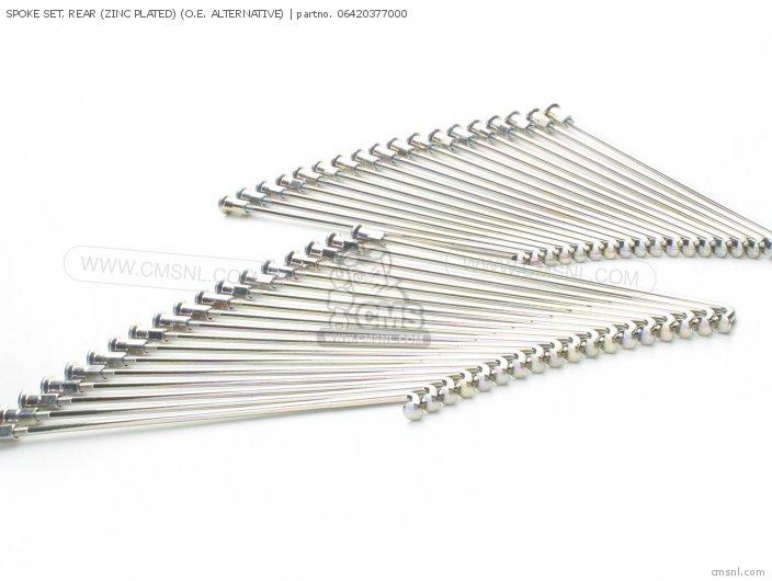 Spoke Set, Rear (zinc Plated) (non O.e. Alternative) photo