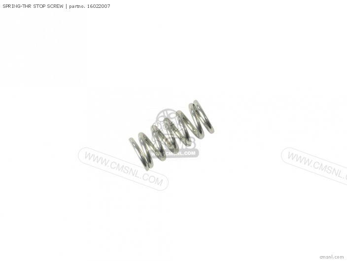 1971 A1-b Spring-thr Stop Screw