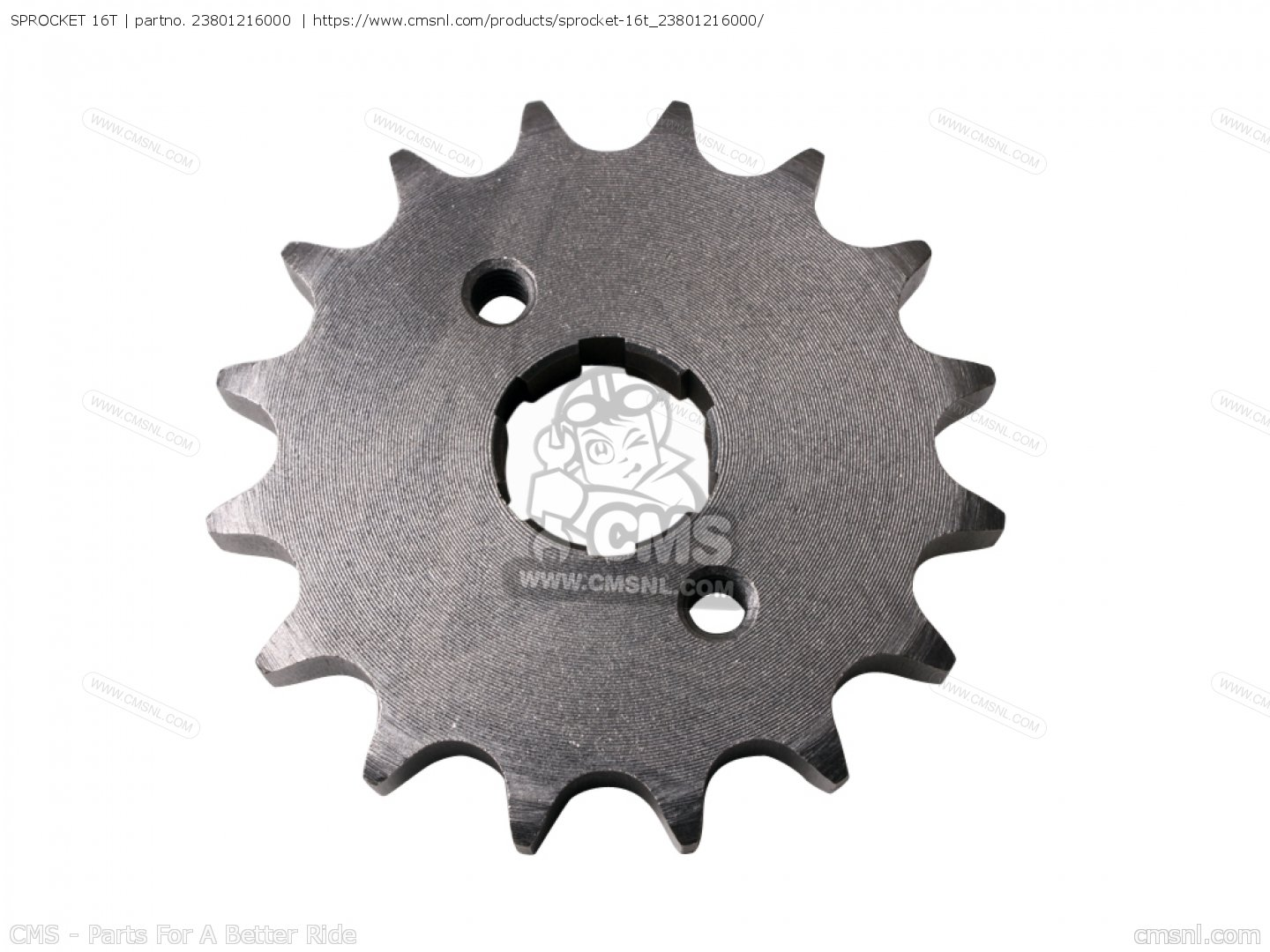 DRIVERS 25T SPROCKET 16T