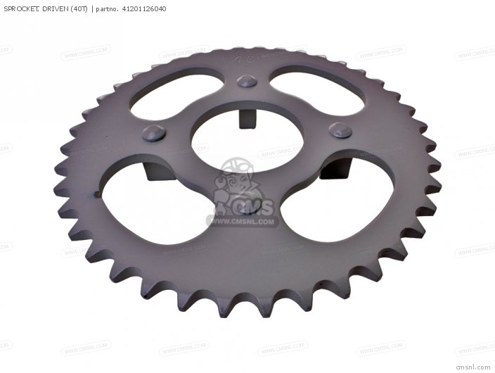 SPROCKET, DRIVEN (40T)