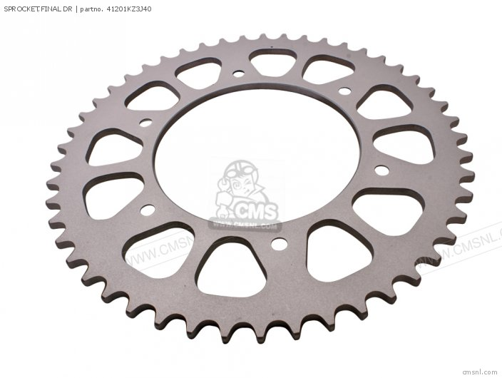 SPROCKET,FINAL DR