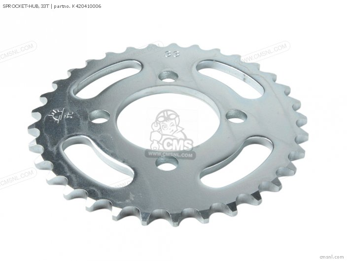 Sprocket-hub,33t photo