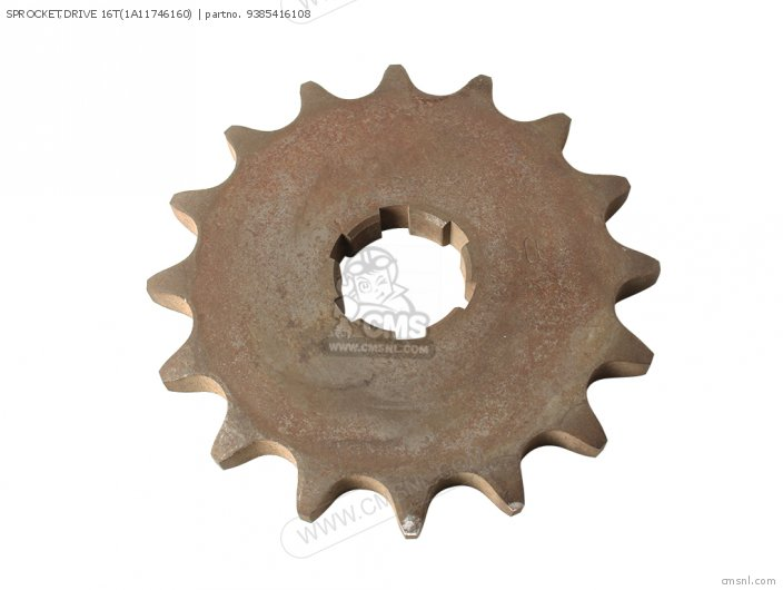 Sprocket, Drive 16t(1a11746160) photo