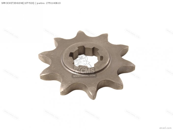 SPROCKET  ENGINE NT 10