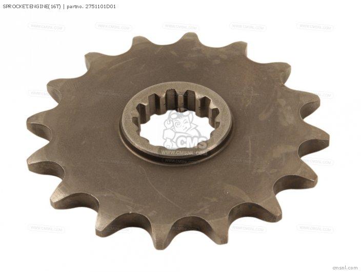Sprocket, Engine(16t) photo