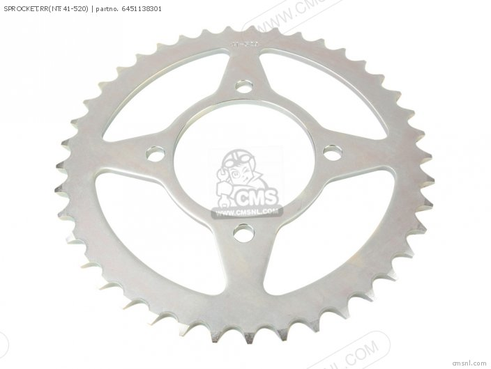 Sprocket, Rr(nt:41-520) photo