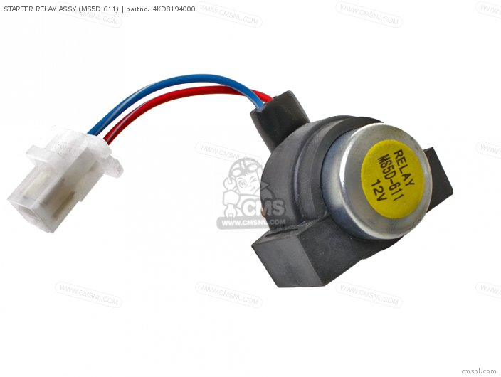 Ys240tb Snow Blower 1990 Starter Relay Assy ms5d-611